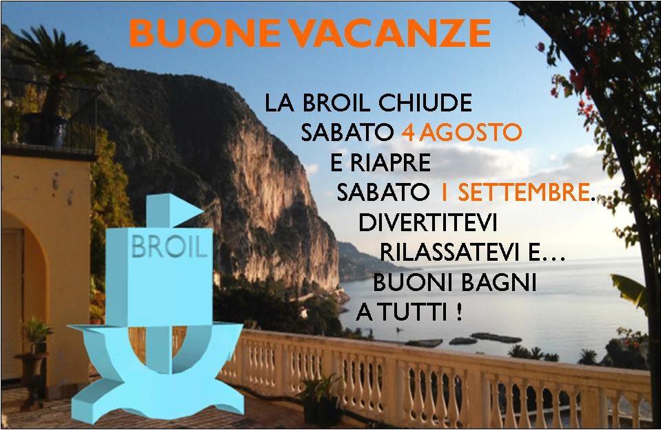 Buone Vacanze 2018 Broil S.r.l.